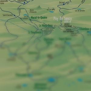 Virées du Sancy - Visites guidées touristiques - où nous trouver ?