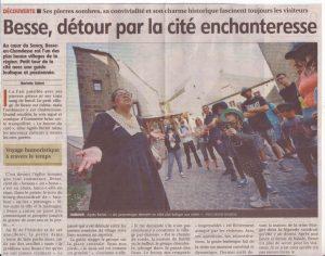 article La Montagne virée àBesse